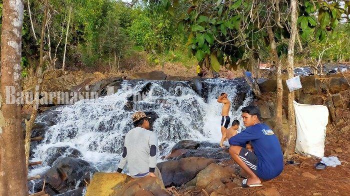 Pengelola Akan Lengkapi Fasilitas di Air Terjun Janda Beranak Tiga Kabupaten Banjar