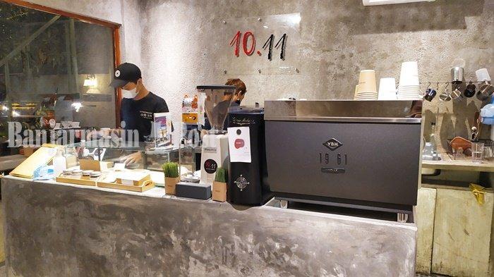Kuliner Kalsel, Sepuluh.11 Kafe Banjarmasin Sediakan Tempat Indoor dan Outdoor