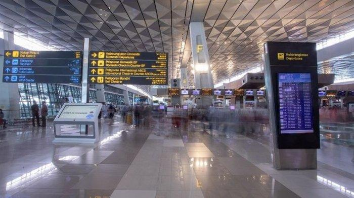 Suasana di Terminal 3 Ultimate Bandara Soekarno Hatta