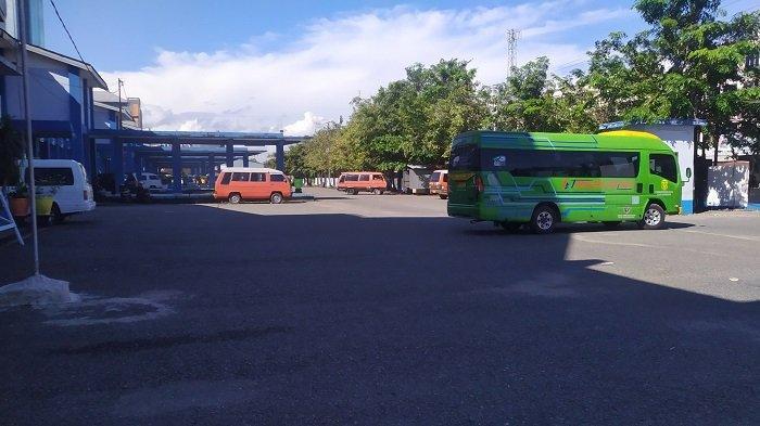 Pasca Peniadaan Mudik, Segini Jumlah Kendaraan dan Penumpang di Terminal Km 6 Banjarmasin