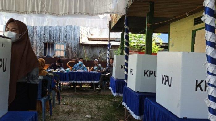PSU Pilgub Kalsel 2020, Pemilih Sempat Antre di TPS Kelurahan Murung Raya Banjarmasin Selatan