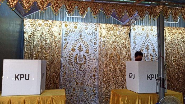 Uniknya TPS 20 di Kelurahan Murung Raya Banjarmasin, PSU Pilgub Kalsel 2020 Rasa Hajatan Perkawinan