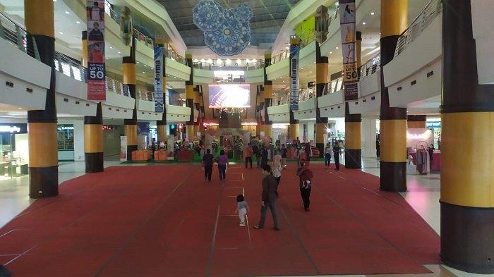 H+3 Lebaran Idulfitri 1442 H, Q Mall Masih Tutup, Sebagian Besar Tenant di Duta Mall Buka
