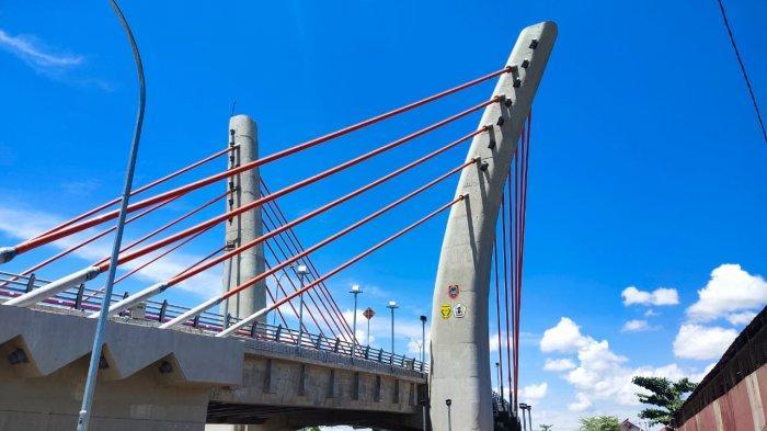 Lagi Viral, Ini Alasan BBPJN XI Banjarmasin Jembatan Alalak Belum Juga Dibuka untuk Umum