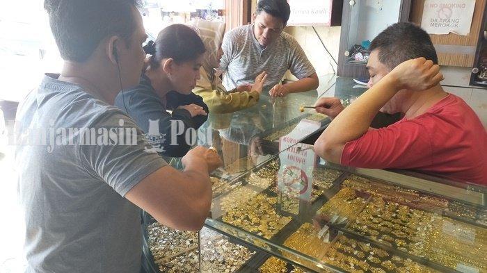 Harga Emas 99 di Banjarmasin Masih Tembus Rp 755.000 per Gram