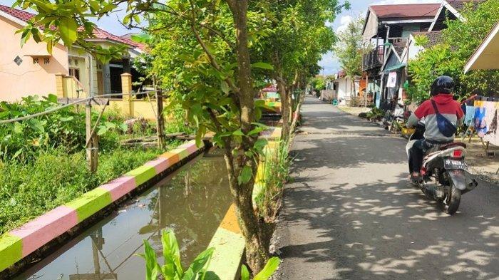 Cantik dan Asri,Taman Iwak Hasil Swadaya Warga Gang AA Banjarmasin