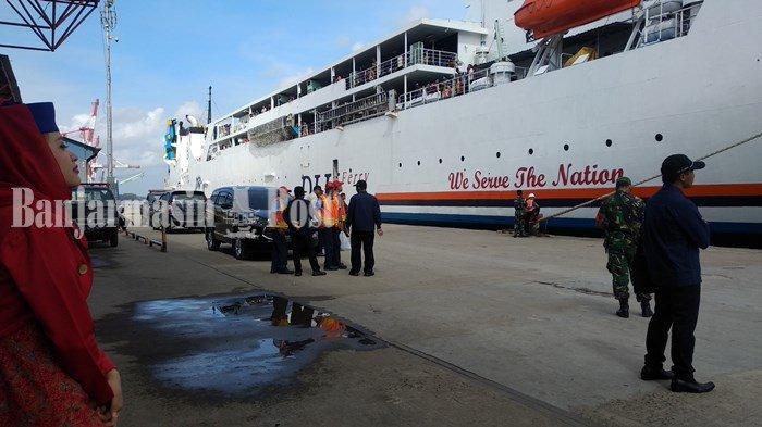 Penumpang Kapal Laut Melalui Pelabuhan Trisakti Banjarmasin Alami Penurunan