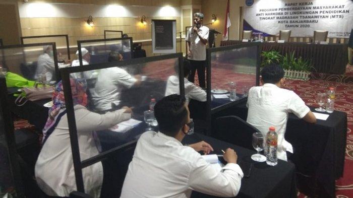 Pemberdayaan Masyarakat Anti Narkoba, BNN Kota Banjarbaru Sasar Pondok Pesantren