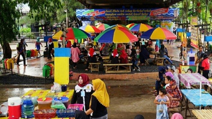 Wisata Kalsel, Mawarung Wadai Banjar di Wisata Kuliner di Kelurahan Sungai Jingah Banjarmasin