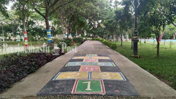KalselPedia - Kawasan Rantau Baru Lokasi Ternyaman Saat Sore di Kota Rantau