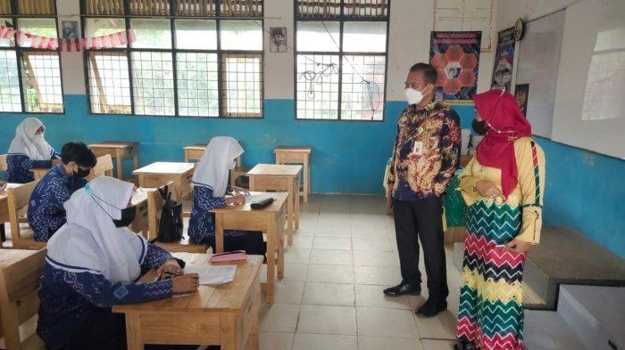 Penilaian Tengah Semester di SMPN 4 Banjarmasin Dilaksanakan 3 Sesi