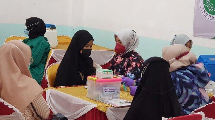 BIN Kalsel Gelar Vaksinasi Covid-19 di Kabupaten Tanahlaut, Sasar Ribuan Santri dan Pelajar