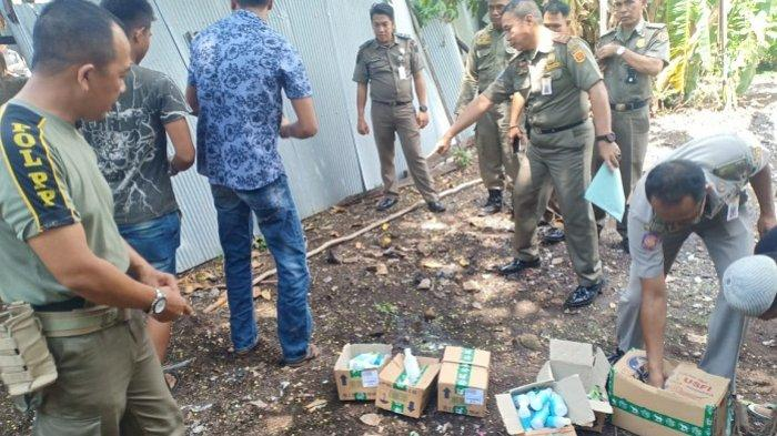 Ratusan Botol Alkohol Dimusnahkan, Ini Alasan Satpol PP Banjarbaru