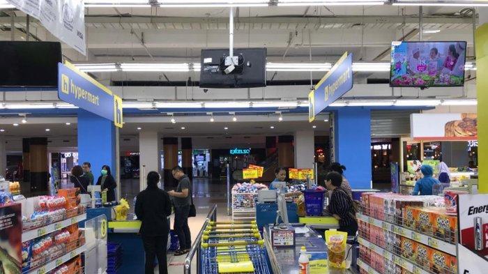 Ramai Dikunjungi Pelanggan, Pihak Supermarket di Banjarmasin Akui Bukan Panic Buying