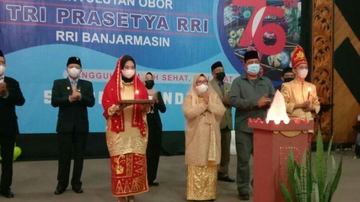 RRI Banjarmasin Turut Meriahkan Perayaan HUT ke-76 RRI