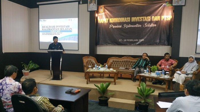 Investasi Kalsel 2020 Ditarget Naik, DMPTSP Kalsel Lirik Sektor Air Minum dan Perumahan