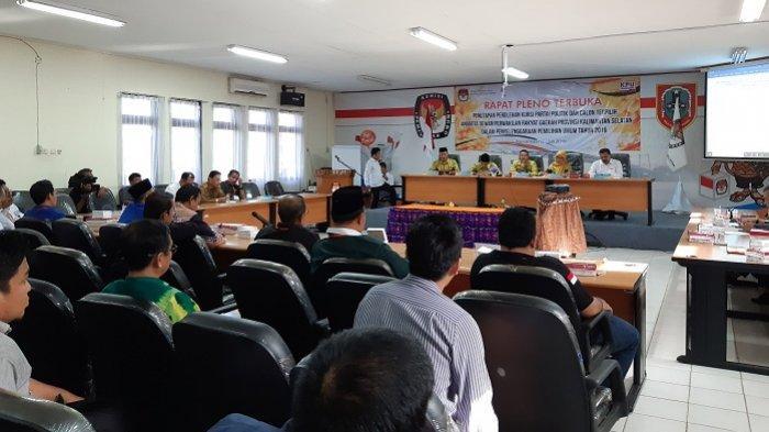 Turuti Saran Bawaslu, KPU Kalsel Tunda Penetapan Perolehan Kursi dan Caleg Terpilih DPRD Kalsel