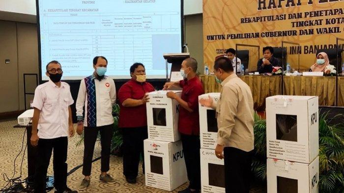 Sah Hasil Pilgub Kalsel 2020, Denny Indrayana-Difriadi Unggul Perolehan Suara di Banjarmasin