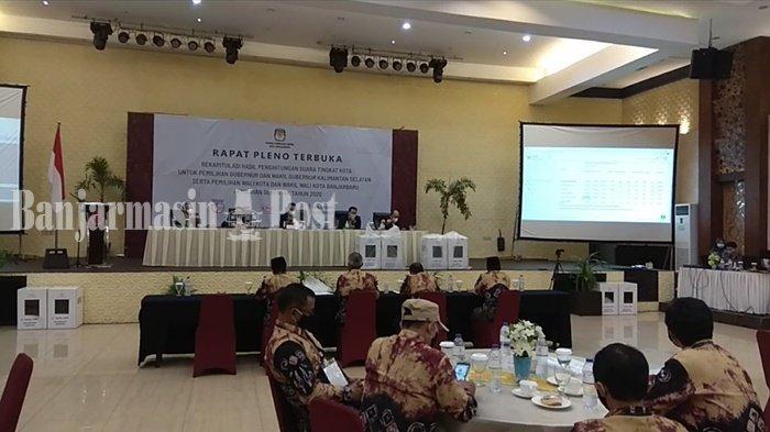 Aditya-Wartono Resmi Raih Suara Terbanyak di Pilwali Banjarbaru