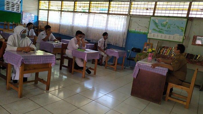 Belajar Daring Kalsel, Ujian Sekolah SMPN 2 Banjarbaru Tetap Secara Daring dan Libatkan Orangtua