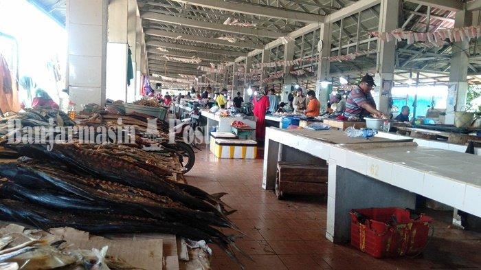 Dampak Covid-19, Pedagang Pasar Ikan Pagatan Tanbu Sepi Pembeli