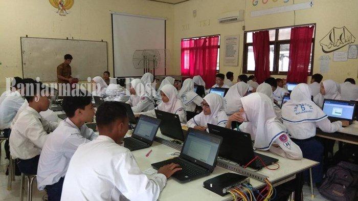 Inilah Empat SMPN di Kota Banjarbaru yang Tak Bisa Laksanakan UNBK