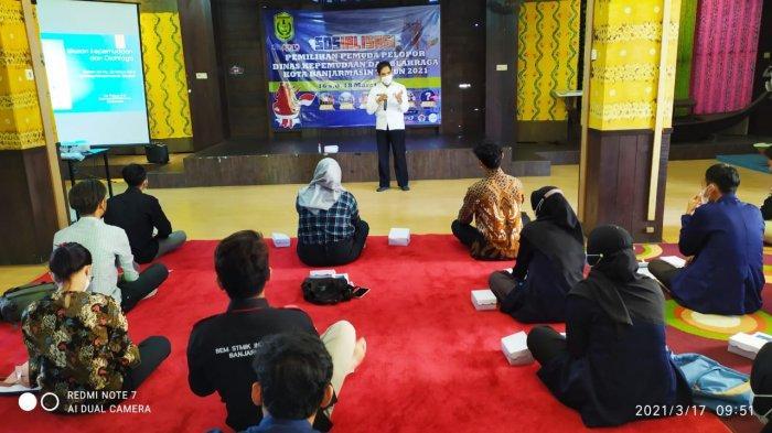 40 Anggota BEM Ikuti Sosialisasi Pemilihan Pemuda Pelopor Dispora Banjarmasin