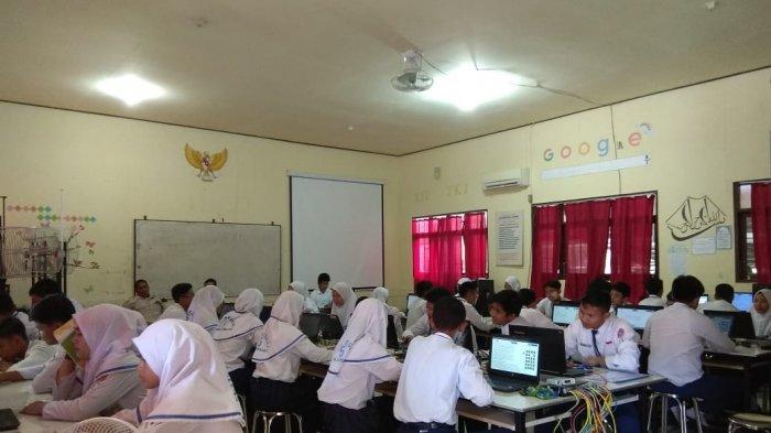 SMPN 5 Banjarbaru Optimistis Tahun Depan Bisa Lakukan UNBK Mandiri