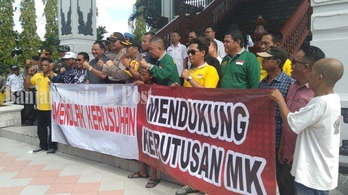 Dewan Harap Tak Ada Masyarakat Kalsel Ikut Aksi di Jakarta Jelang Pembacaan Keputusan MK