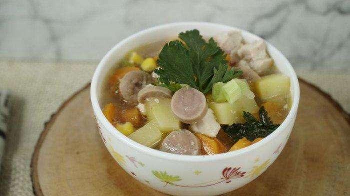 Cara Praktis Bikin Sup Ayam Komplet untuk Sahur Ramadhan 2021, Cukup Pakai Rice Cooker