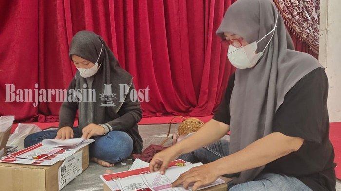 Surat Suara Lebih dan Rusak untuk PSU Pilwali Banjarmasin Mencapai 248 Lembar