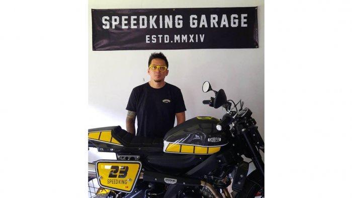 Susanto Gunawan (Speedking Garage) - XSR 155 Flat Tracker