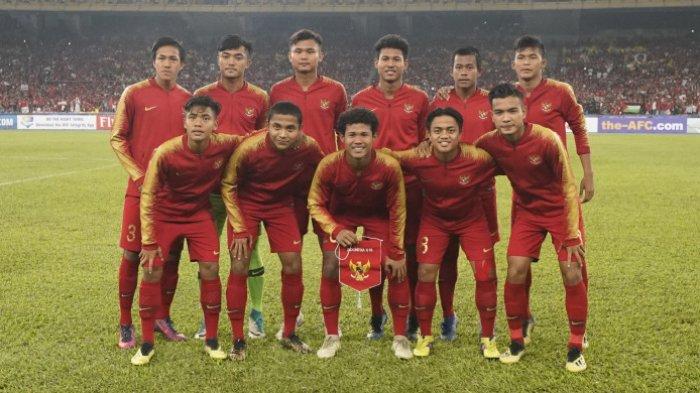 Jadwal & Link Live Streaming MNC TV Timnas U-16 Indonesia vs Australia di Piala AFC U-16 2018