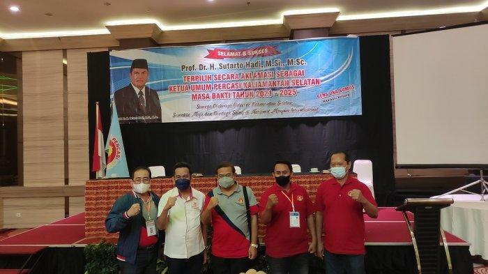 Sutarto Hadi Menjabat Ketua Umum Percasi Kalsel 2021-2025, Siap Mengembalikan Kejayaan Catur