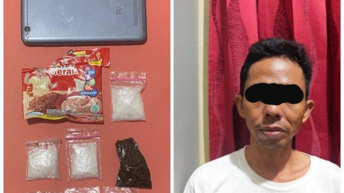 Narkoba Kalsel, Bawa Sabu, Supir di Banjarmasin Kelabui Petugas dengan Kotak Bubur Bayi