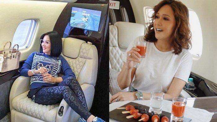 Tawa Maia Estianty & Sandra Dewi di Postingan Soal Pamer, Sindir Syahrini Soal Jet Pribadi?