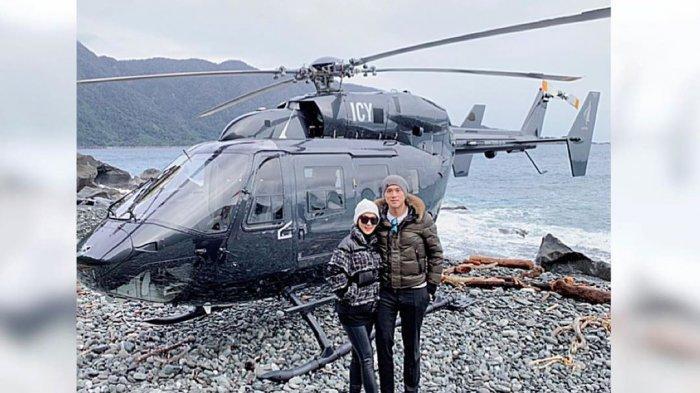 Biaya Bulan Madu Syahrini dan Reino Barack di New Zealand, Cuma untuk Sewa Helikopter Segini