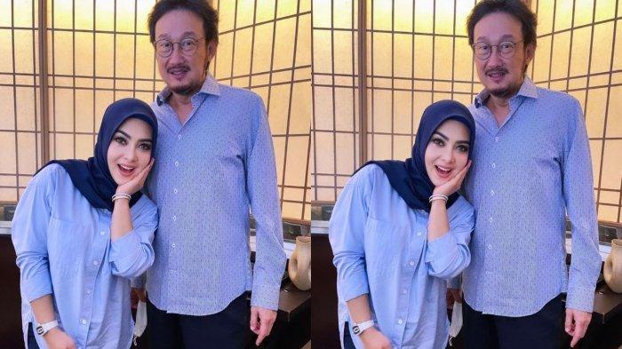 Insiden Syahrini Patah Tulang Dikenang Saat Bersama Prof Nico, Berjumpa di Restoran Reino Barack