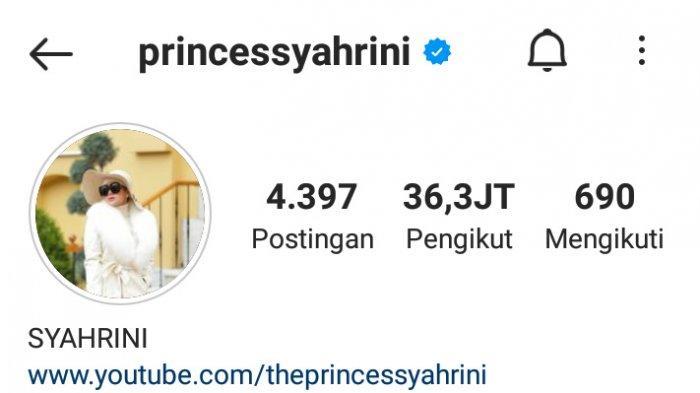 Syahrini ganti foto profil Instagram
