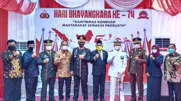 Ketua DPRD Kotabaru Apresiasi Kerja Keras Polres Kotabaru Sukseskan HUT ke-74 Bhayangkara