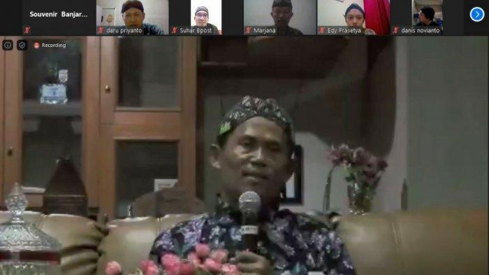 Syawalan Virtual Kejogja Kalsel, Seru Diikuti Anggota Hingga Luar Kalsel, Ini Sambutan Bupati Tala