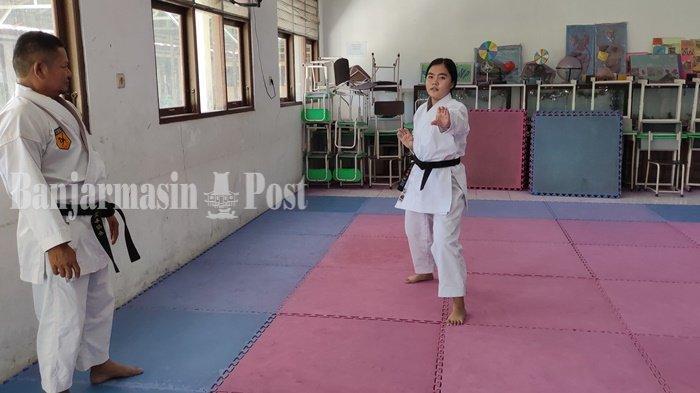 Tim Karate Tabalong Optimis Raih Enam Medali Emas di Popda Kalsel