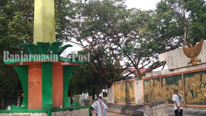 Wisata Kalsel, Mengunjungi Taman 17 Mei Kota Rantau Kabupaten Tapin