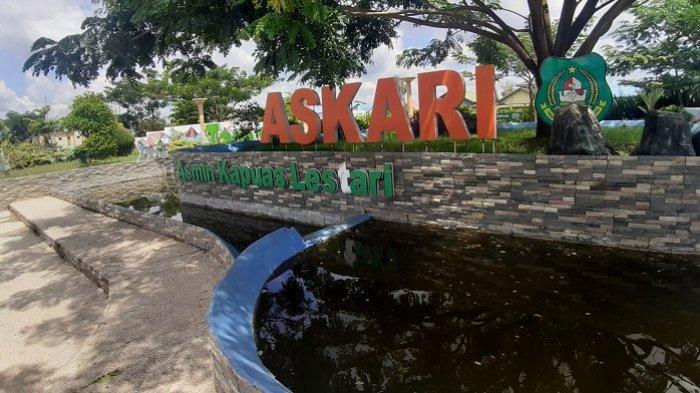 Kaltengpedia : Taman Asmin Kapuas Lestari, Tempat Unik untuk Bersantai di Kota Kualakapuas