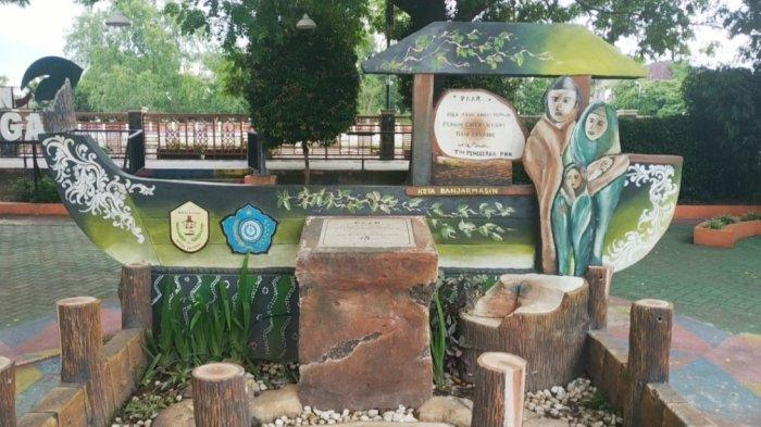 KalselPedia : Wisata Keluarga Ke Taman Bungas, Ramah Anak dan Lokasi Mudah Dijangkau