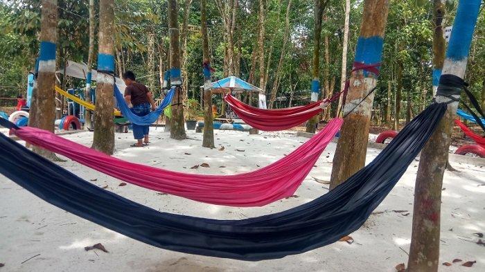 Dibenahi 2017, Kini Taman Burung Hutan Kota Tabalong Usung Konsep Wisata Digital Edukatif