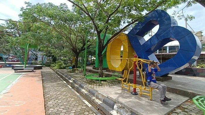 Wisata Kalsel - Seru Untuk Berolahraga, Taman Education Park Tanbu Juga Ada Fasilitas Panjat Tebing