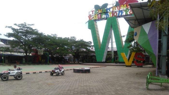 Wisata Kalsel : Edukasi Anak saat Bermain, Taman Education Park Tanbu Ada Huruf A Sampai Z
