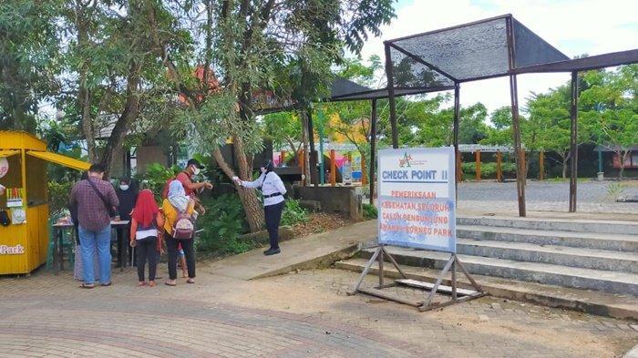 Tempat Wisata Amanah Borneo Park di Kota Banjarbaru Terapkan Protokol Kesehatan