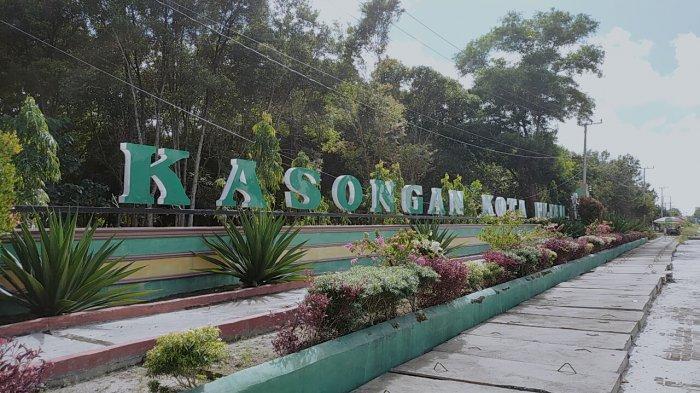 KaltengPedia - Taman Hijau Kasongan Kabupaten Katingan